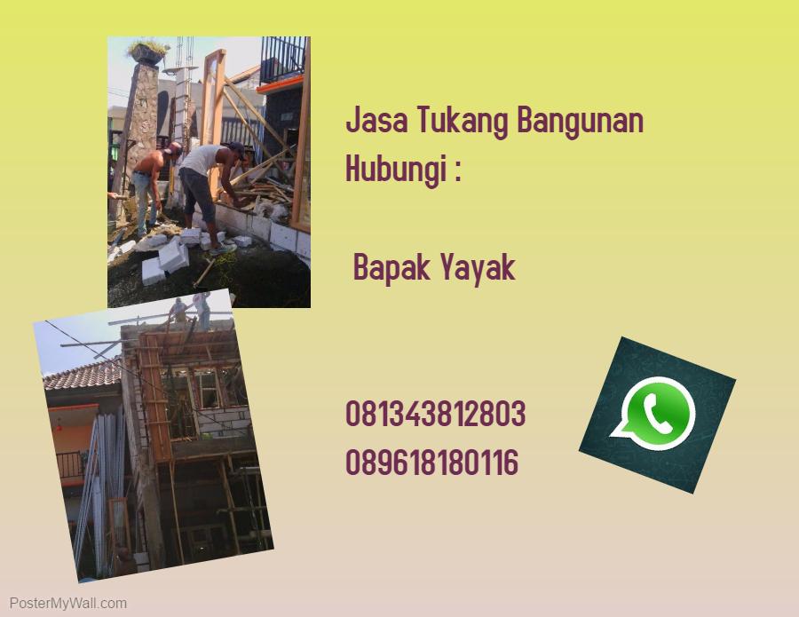 TELP 0813 4381 2803 Pemborong Jasa Bangun Renovasi Rumah