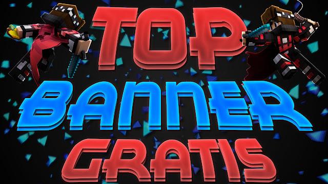 TOP 5 BANNER DE MINECRAFT
