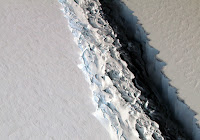 Massive Iceberg Breaks Off from Antarctica