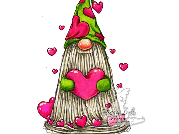 Tutorial Tuesday - Tomte Gnome Hearts Using Complementary Colors