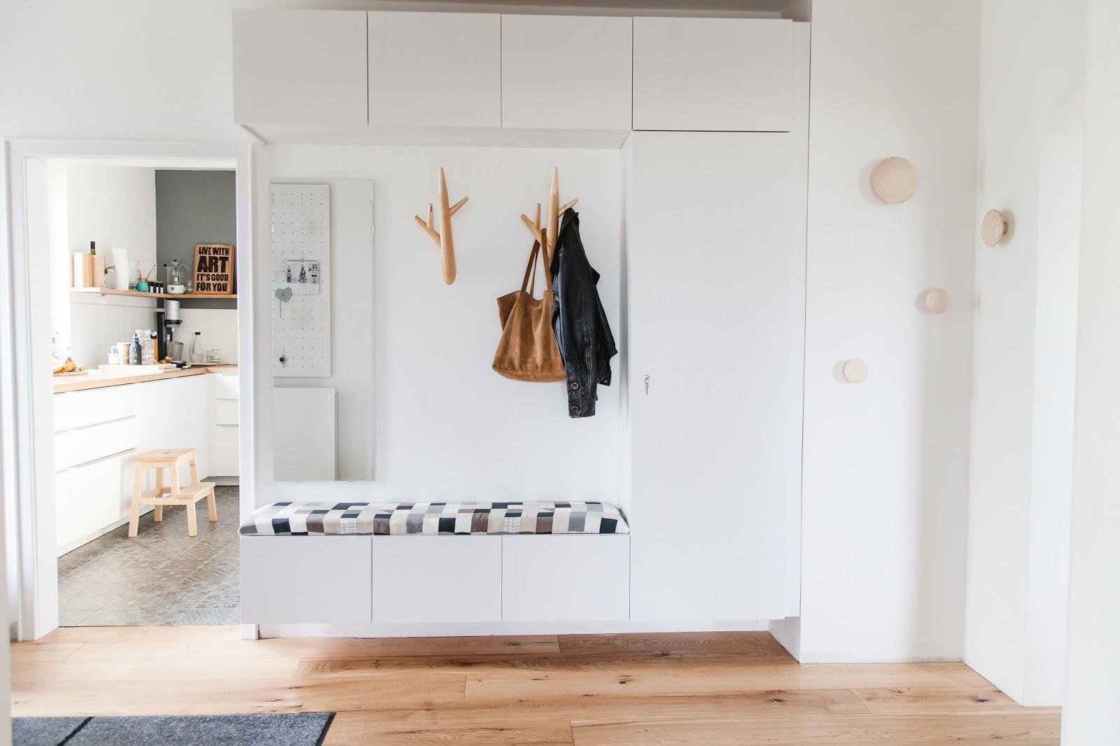 vorher nachher der eingangsbereich und die geheime ecke wohnprojekt wohnblog f r interior. Black Bedroom Furniture Sets. Home Design Ideas