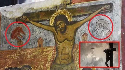 ¿Estuvieron los extraterrestres presentes en la crucifixión de Jesús?