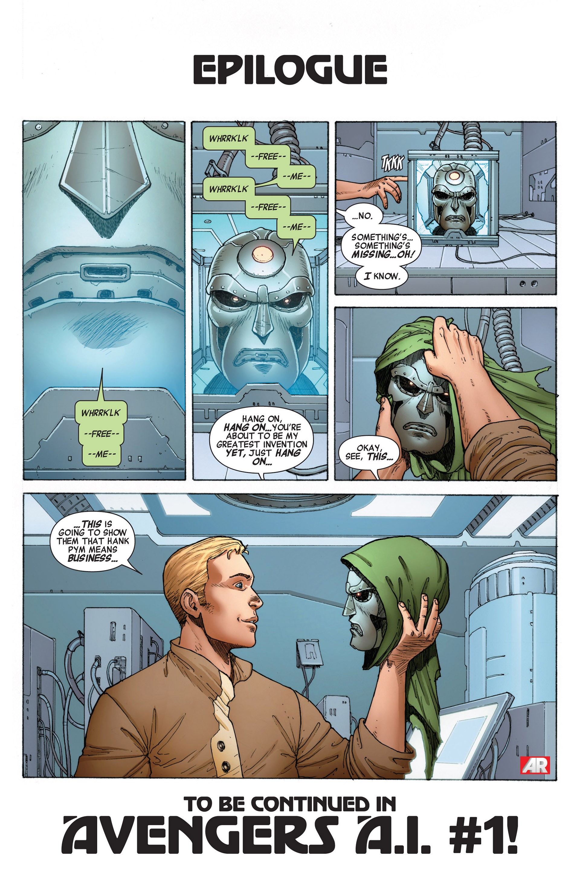 Read online Age of Ultron comic -  Issue #10AI - 22