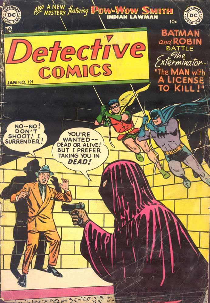 Detective Comics (1937) 191 Page 1