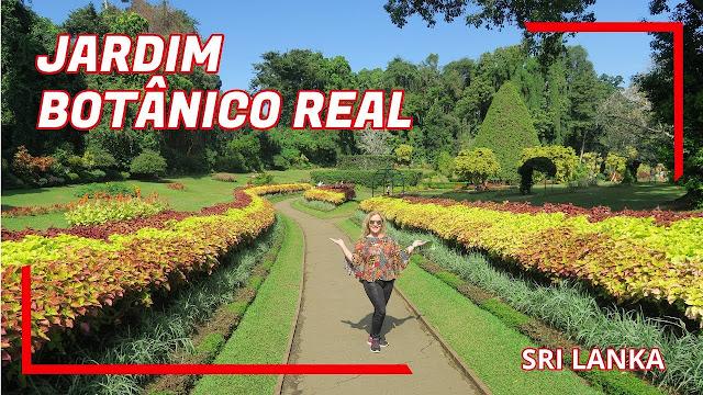 Jardim Botânico Real do Sri Lanka