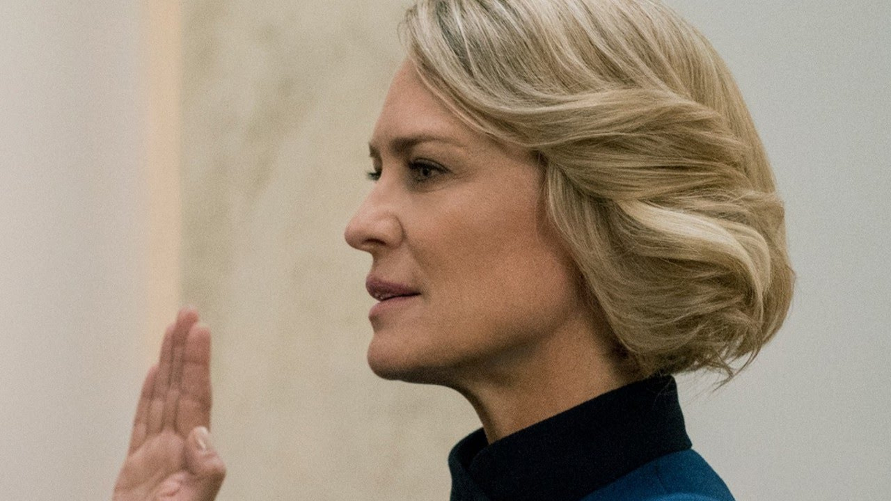Fotografía de Robin Wright en 'House of Cards'