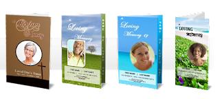 funeral leaflets and templates