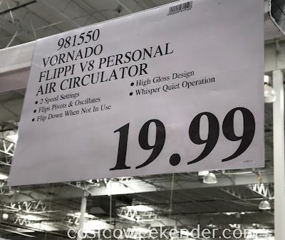 Deal for the Vornado Flippi V8 Personal Air Circulator at Costco