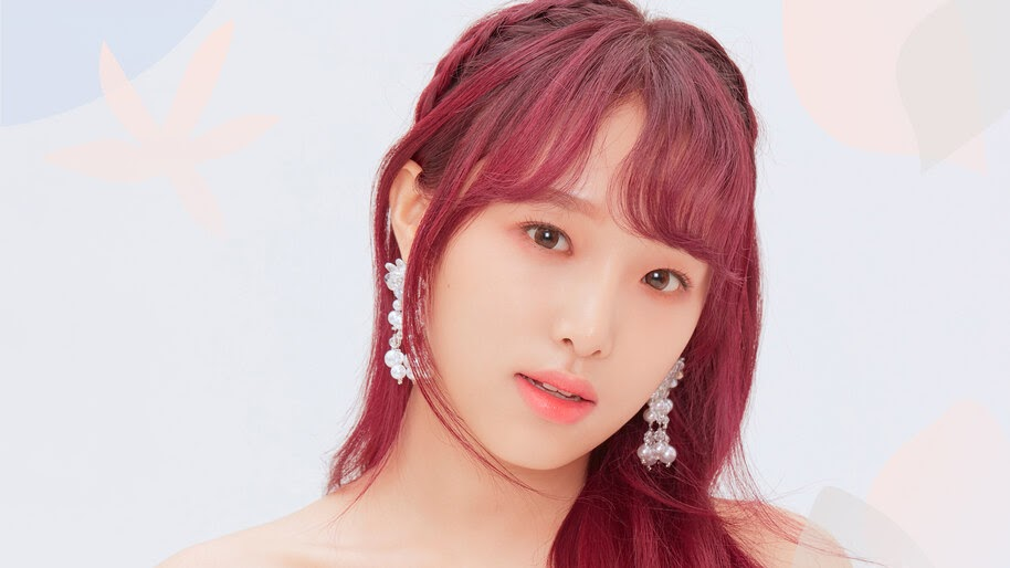Yena, Red Hair, Beautiful, IZ*ONE, Bloom*Iz, 4K, #6.649