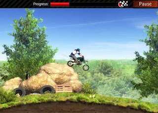 لعبة Extreme Bike Trials لسباق الدراجات النارية