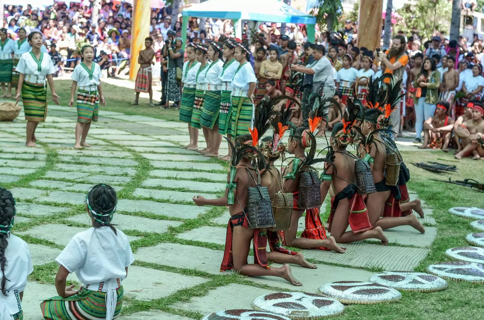 Ethno-Indigenous Youth Cultural Presentation 13th Lang-Ay Festival  Bontoc Mountain Province Cordillera Administrative Region Philippines
