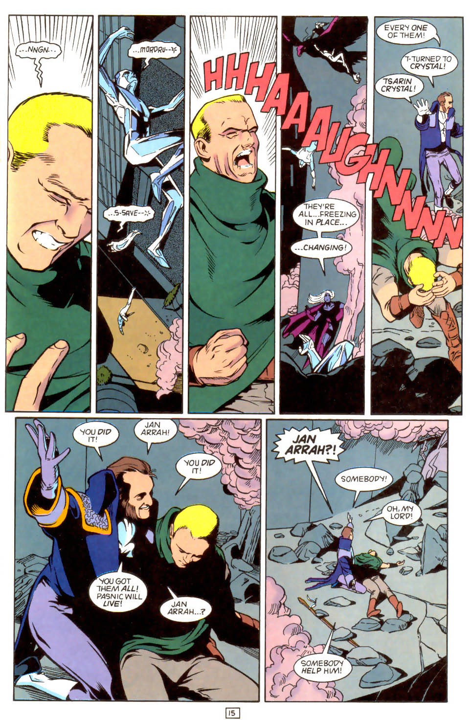 Legion of Super-Heroes (1989) 46 Page 15