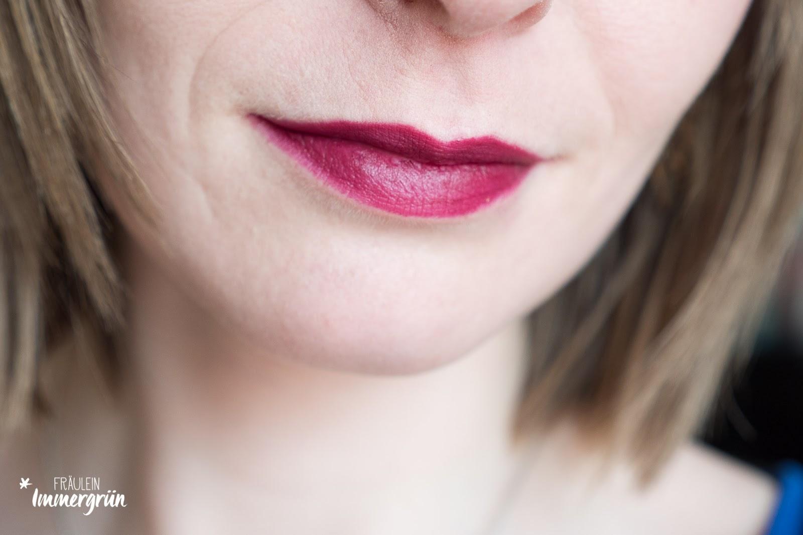 Nui Cosmetics Lipstick Tempora, vegan, Naturkosmetik, matt