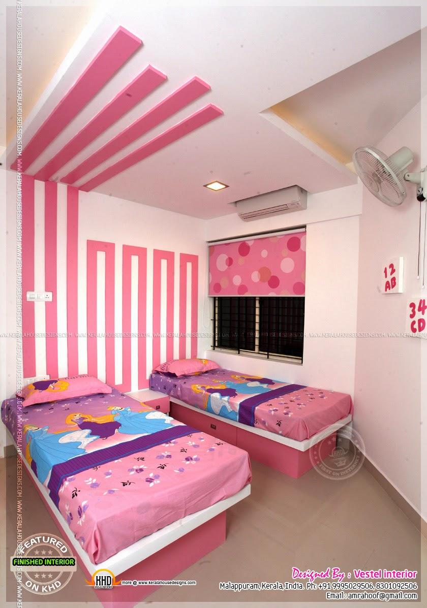 Finished interior designs in Kerala - Kerala home design ...