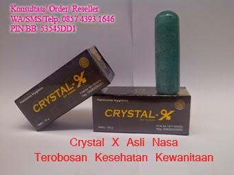 jual crystal x asli nasa terobosan kesehatan kewanitaan