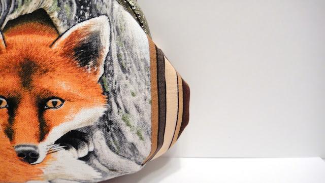 Женская сумочка кошелек Лиса - подарок девочке подростку, подарок коллекционеру лис.