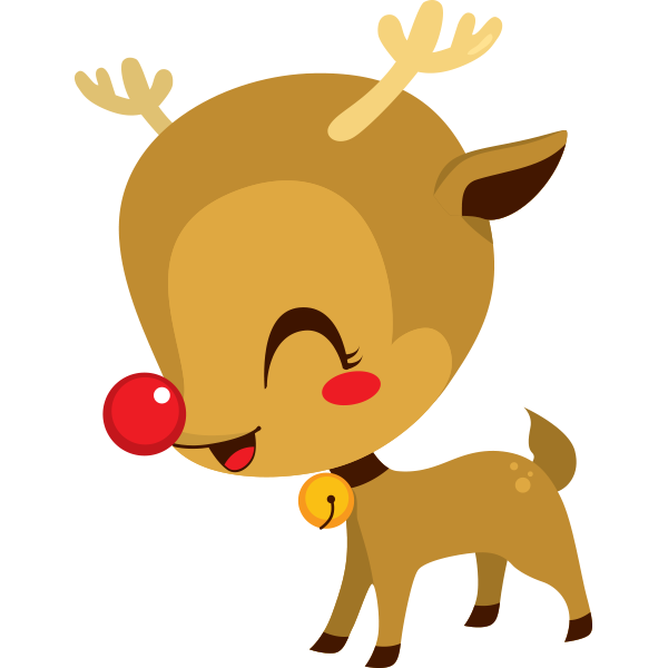 Baby Rudolph Icon