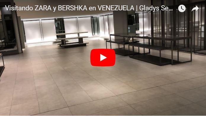 Tiendas Zara y Bershka en Venezuela se encuentran prácticamente vacías