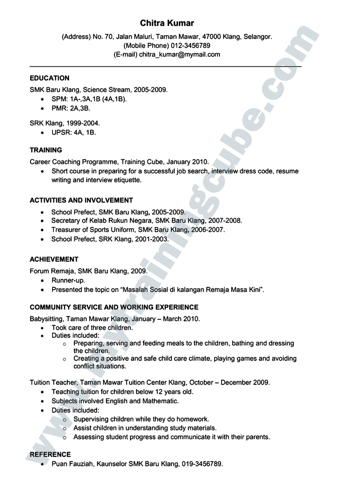 contoh offer letter bahasa malaysia formal letter spm contoh offer letter bahasa malaysia cv outline contoh 765