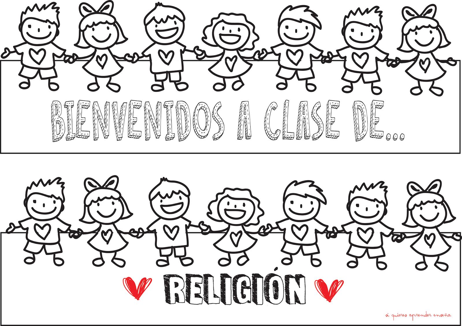 Dibujos Clase De Religion: Si Quieres Aprender, ENSEÑA