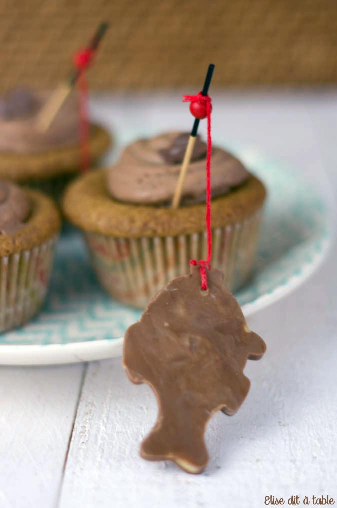 recette Cupcake poisson d'avril