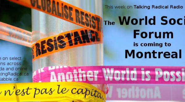 الشبيبة اليسارية الكندية  تندد بمشاركة الوفد المغربي التي تتعارض مع اهداف المنتدى الاجتماعي العالمي
