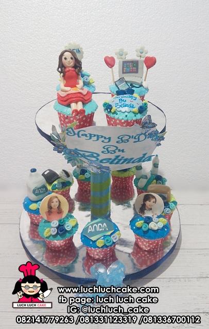 Cupcake Ulang Tahun Bos