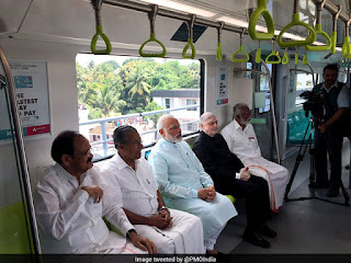 PM-Modi-inaugurates-Kochi-Metro