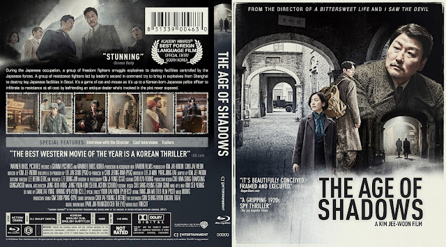 The Age Of Shadows Bluray Cover