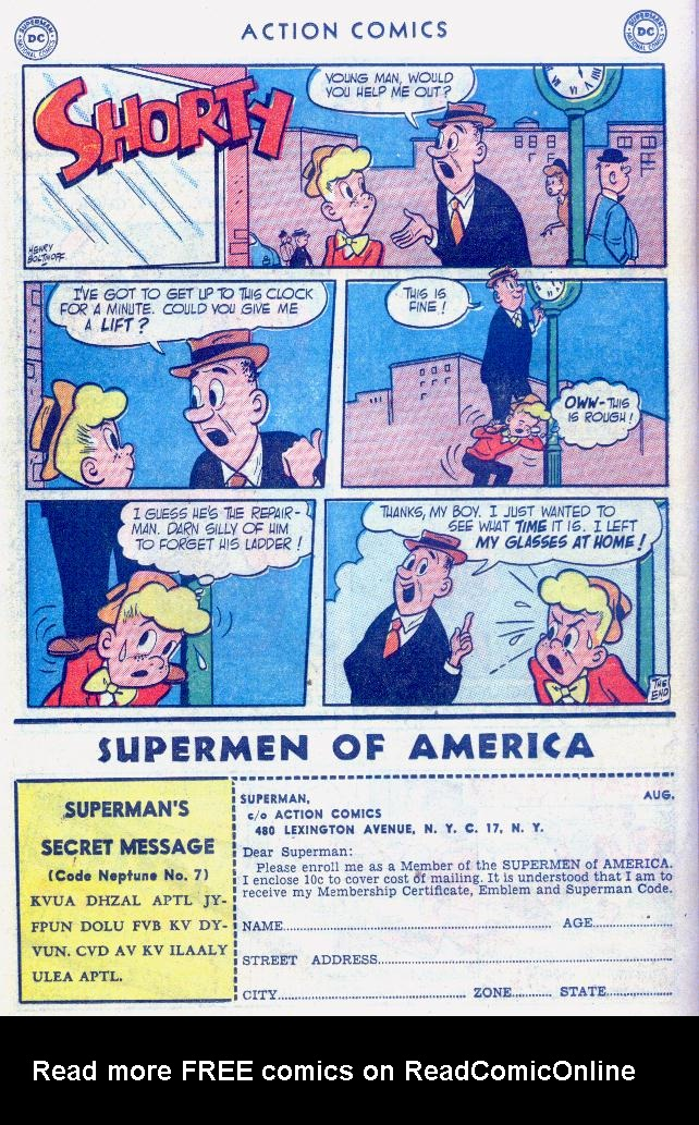 Read online Action Comics (1938) comic -  Issue #159 - 38