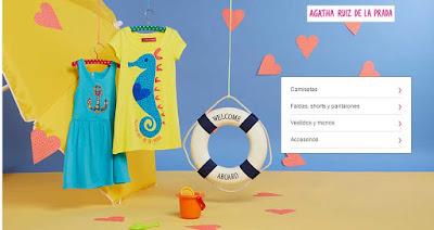 oferta de ropa de Agatha Ruiz de la Prada para ninas