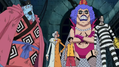 One Piece Episódio 443