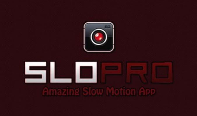 Aplikasi Video Slow Motion Android - SloPro