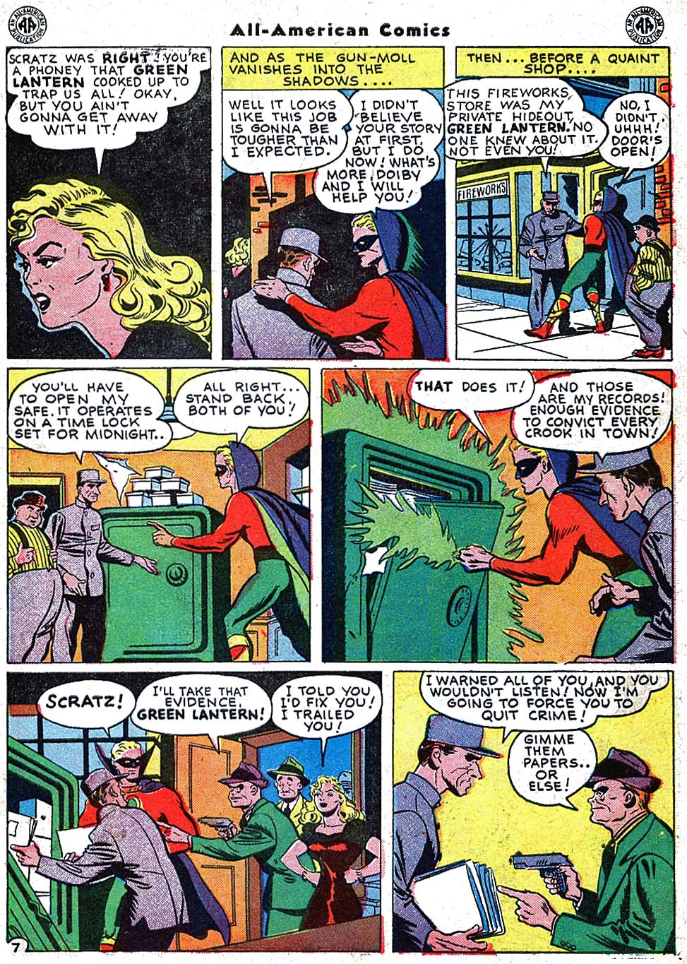 Read online All-American Comics (1939) comic -  Issue #67 - 9