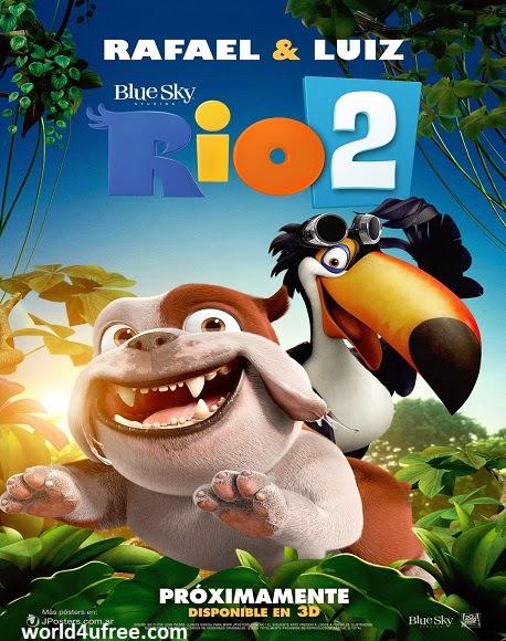 Rio 2 2014 R4 DVDRip 300mb Audio line