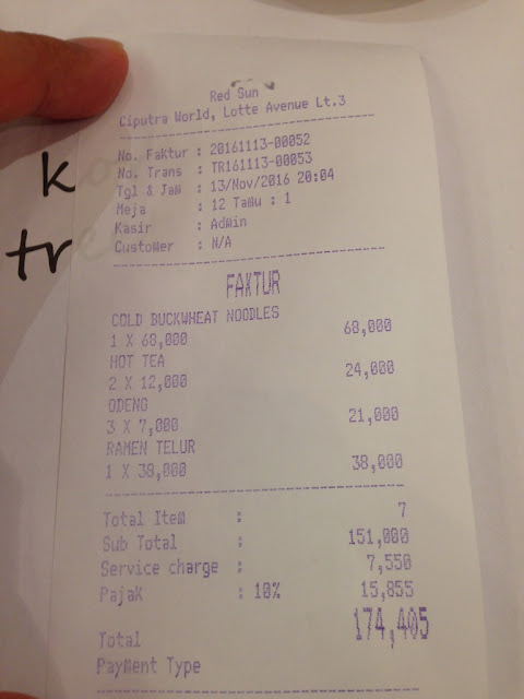 cari kuliner makanan korea di Jakarta Lotte