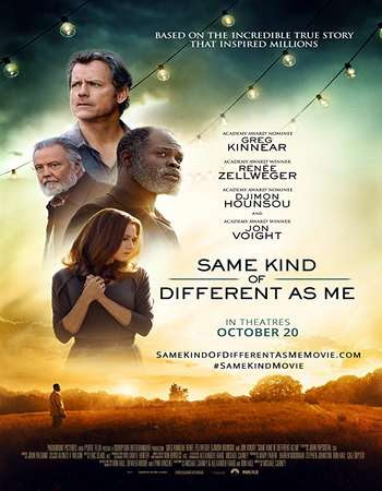 Poster Of Hollywood Film Watch Online Same Kind of Different as Me 2017 Full Movie Download Free Watch Online 300MB