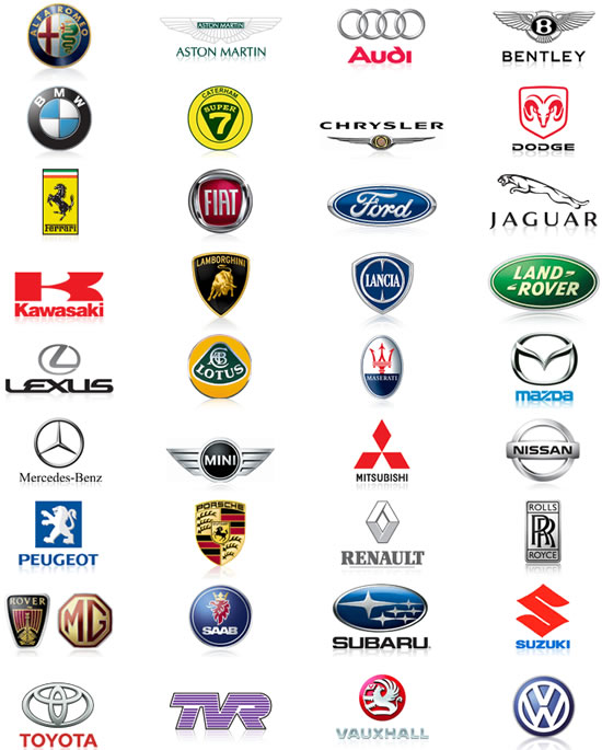 World Of Cars Car Brands
