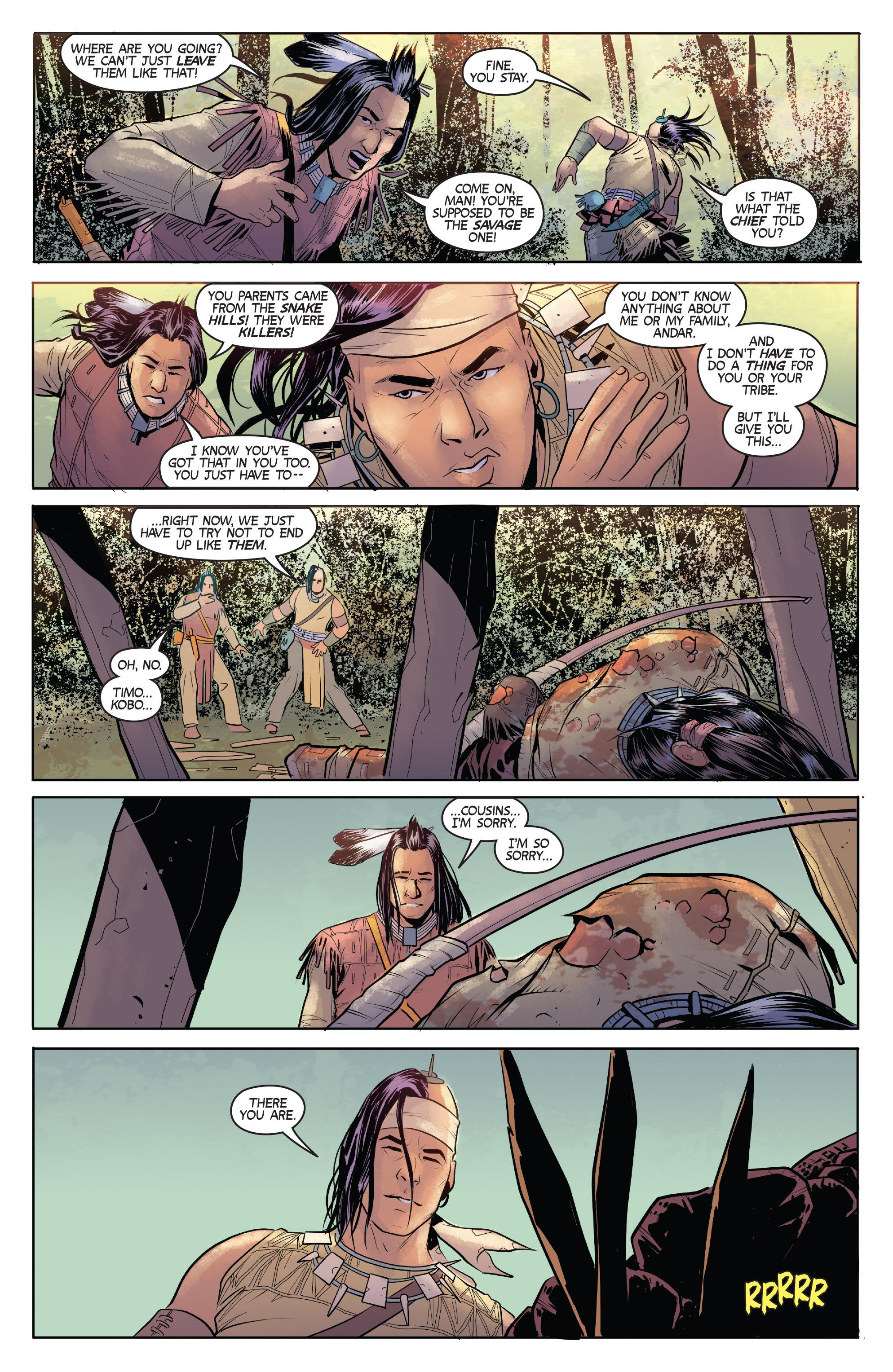 Read online Turok: Dinosaur Hunter (2014) comic -  Issue # _TPB 1 - 33