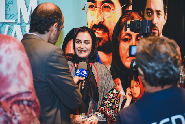 Actress Merila Zare'i attended the launch of Iranian Film Festival Malaysia 2018 (IRFF)