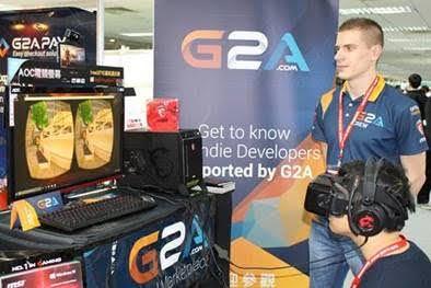 G2A COM Presents Award-Winning G2A Land VR Oculus Project at