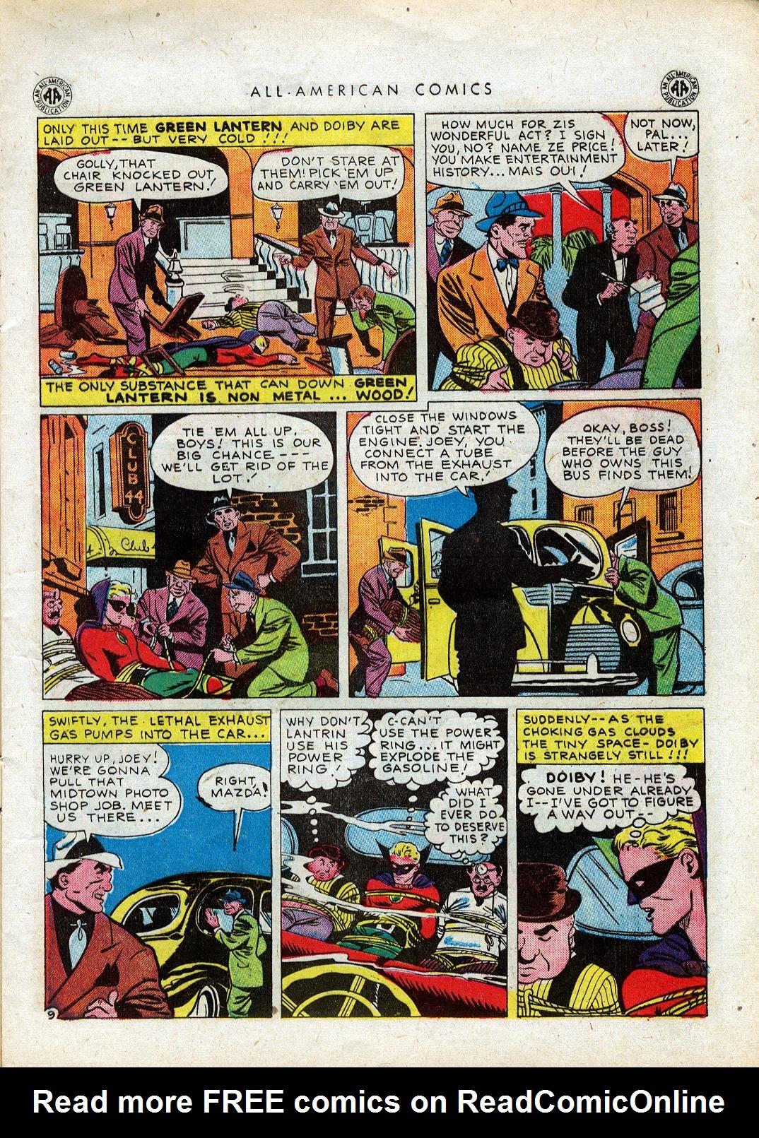 Read online All-American Comics (1939) comic -  Issue #64 - 12