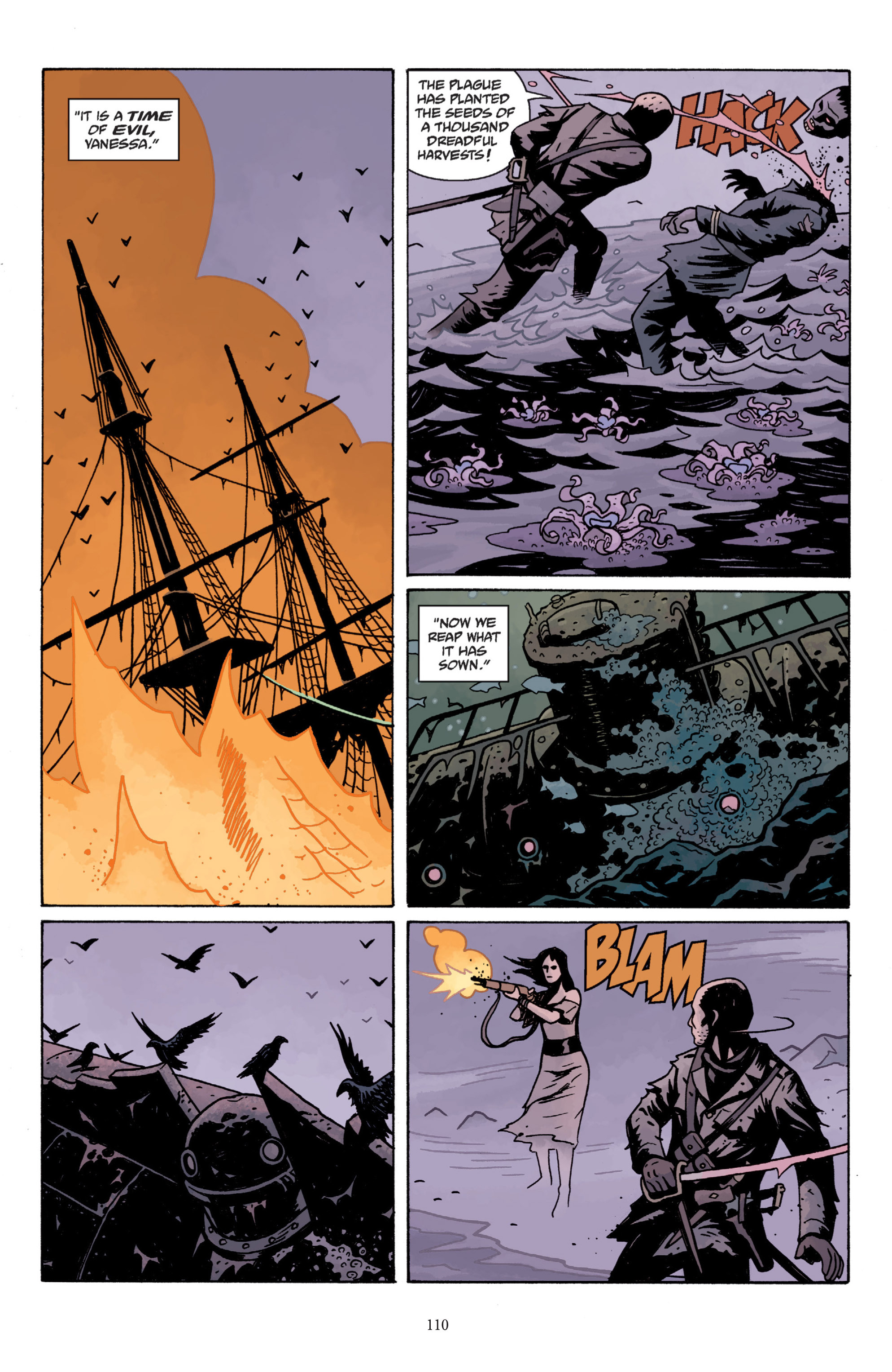 Read online Baltimore: The Plague Ships comic -  Issue # TPB - 110