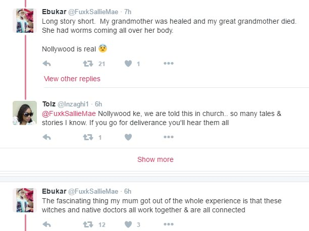 Shocking: Guy narrates the story of his great grandmum who is involved in witchcraft