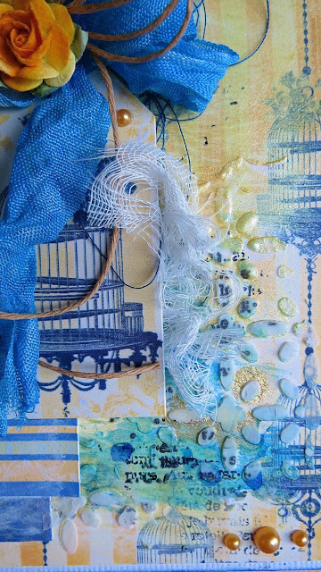 Genevieve Card by Megan Gourlay using Genevieve from BoBunny