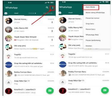 Trik Mengubah Tampilan Status Whatsapp Seperti Instgram di Android