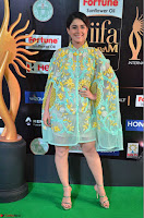 Isha Talwar in Transparent Cute Small mni dress at IIFA Utsavam Awards 2017  Day 2    HD Exclusive Pics 12.JPG