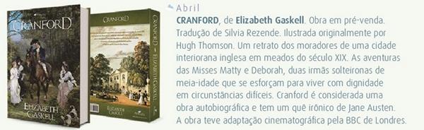 Cranford, Elizabeth-Gaskell, livro, romance, classico, pedrazul, edicao-nova