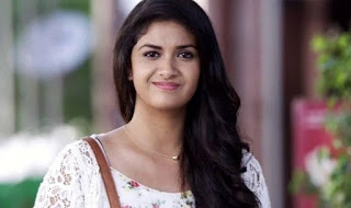 Keerthy Suresh in White Dress with Cute and Awesome Lovely Smile 1