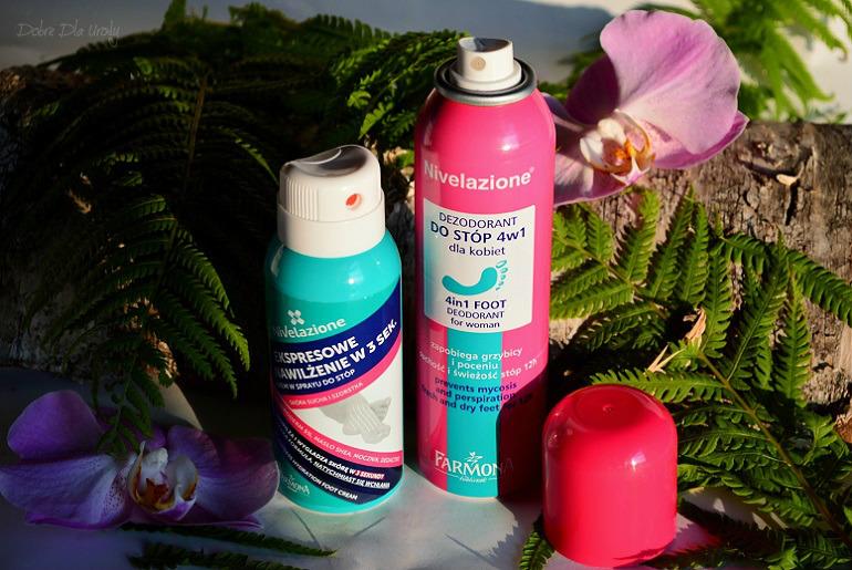 Laboratorium Farmona Nivelazione Dezodorant do stóp 4w1 i Krem do stóp w sprayu